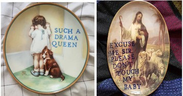 'Very Ugly Plates' With Dark Humor Captions About Animals