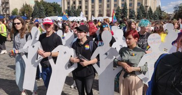 Far-right mobs attacked queer kids after first Pride in Ukraine city