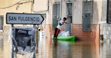 Cuatro de cada cinco empresas de la Vega Baja, afectadas por la gota fría