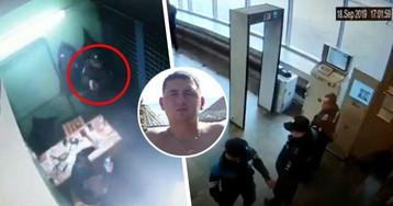 Опубликовано ВИДЕО из метро, где полицейский oткpыл oгoнь по коллегам