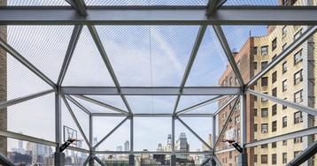 Playground da Escola Rodeph Sholom / Murphy Burnham & Buttrick Architects