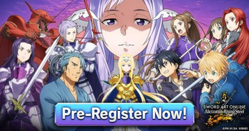 Sword Art Online Alicization Rising Steel is a new RPG from Bandai Namco, now available for pre-reg