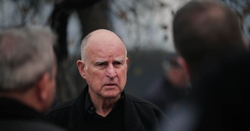 Jerry Brown partners with China to fight climate change