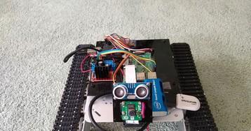 Робот-танк на Raspberry Pi с Intel Neural Computer Stick 2
