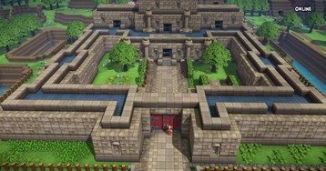 Guy Builds Incredible Replica Of Link To The Past In Dragon Quest Builders 2