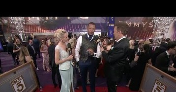 Terrence Howard's Insane Emmy's Interview
