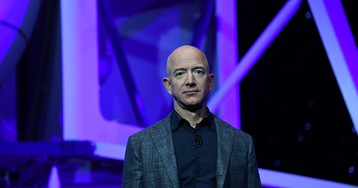 Jeff Bezos wants the US military to think bigger in space