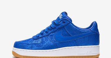CLOT Reveals Its Luxurious Blue Silk Nike Air Force 1
