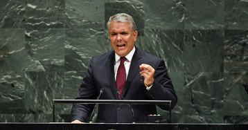 Colombian President at U.N.: Venezuela's Maduro Aiding 'Murderers and Child Rapists'