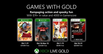 Xbox Games with Gold for October adds 'Friday the 13th' and 'Ninja Gaiden 3'