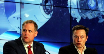 What's going on with Elon Musk and the head of NASA?