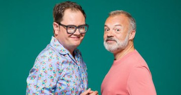 'I love drag. It's dangerous': Graham Norton and Alan Carr on desire, camp and 'cancel culture'