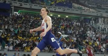 Warholm gana, pero se queda lejos del récord de los 400m vallas