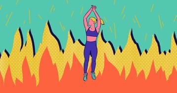 5 кругов ада: безумные прыжки и непростая планка
