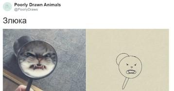 Художники плохо нарисовали животных, но получилось очень забавно (17 фото)