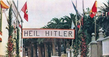 Banderas nazis en Canarias