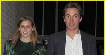 Princess Beatrice & Edoardo Mapelli Mozzi Step Out for the First Time Since Getting Engaged!