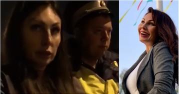 Новое видео задержания Бочкаревой с кoкaинoм в трусах появилось в Сети