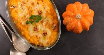 Гратен из картофеля и тыквы