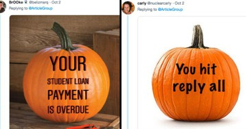 Twitter Users Share Realistically Scary Jack-o-Lanterns