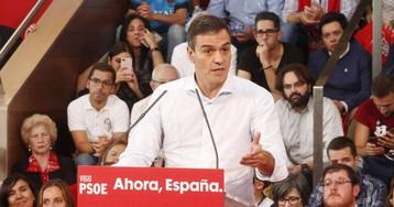 """Sánchez: """"No pedimos el apoyo de Ciudadanos sino que no bloquee"""""""
