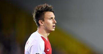 «Монако» проиграл «Монпелье» в Лиге 1. Головин получил красную карточку