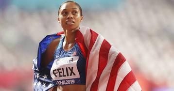 Las 13 razones de Allyson Felix, madre y atleta