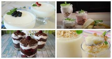5 десертов, которые подают в стакане или фужере