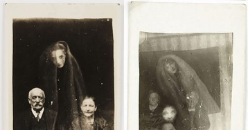Vintage Photoshop Or The Spirit Photographs Of William Hope In The 1920s