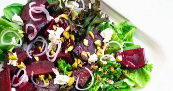 Beet Salad with Balsamic Dressing