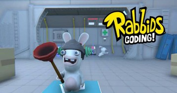 'Rabbids Coding' teaches kids the basics of coding for free