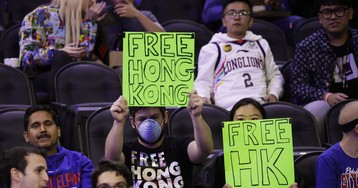 An NBA Fan Was Ejected from a Game in Philly for Yelling 'Free Hong Kong'