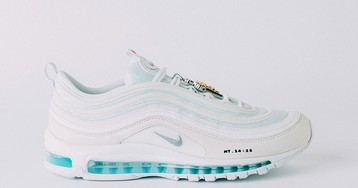 """Customized Air Max 97 """"Jesus Shoes"""" Are Full of Holy Water & People Are Making Drip Jokes"""