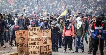 Las protestas indígenas en Ecuador redoblan la presión contra el Gobierno