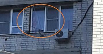 МЧС чудом спасли 3-летнего ребенка, который чуть не упал с окна 8 этажа