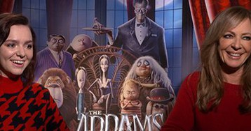 Allison Janney & Elsie Fisher on 'The Addams Family' and How Things Changed During Production