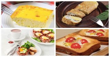 5 рецептов разных завтраков из яиц