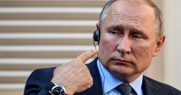 Путин признался, что ему сломали нос