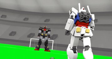 The Gundam Soccer Parody We Need