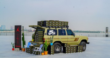 Dubai's Amongst Few Outfitted a Land Cruiser for the Travis Scott Air Jordan 6