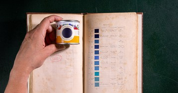 An 18th-century geologist emerges as 2019's most insightful color guru