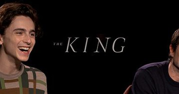 Timothee Chalamet & David Michod Talk 'The King' and Filming the Big Battle