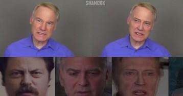 Deepfake transforms impressionist into 20 celebrities
