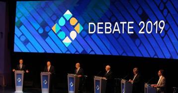 Macri y Fernández se enfrentan en el primer debate presidencial en Argentina