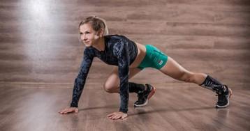 5 кругов ада: тренировка приведёт в тонус мышцы всего тела