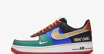 "New York City Is Getting a Patchwork ""What The"" Air Force 1"