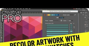 CreativePro Video: Recolor Artwork with Pantone Swatches