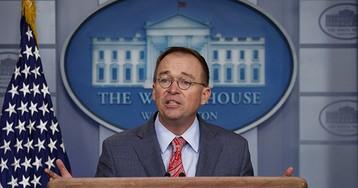 Mick Mulvaney: 'We Held Up the Money' for Ukraine Investigation into DNC Server