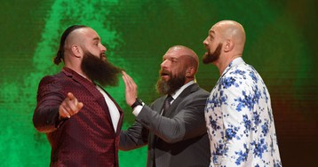 WWE Is Banking On Crossover Athletes To Carry Its Next Creepy Saudi Show