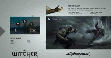 Концепт–арт Геральта для Cyberpunk2077